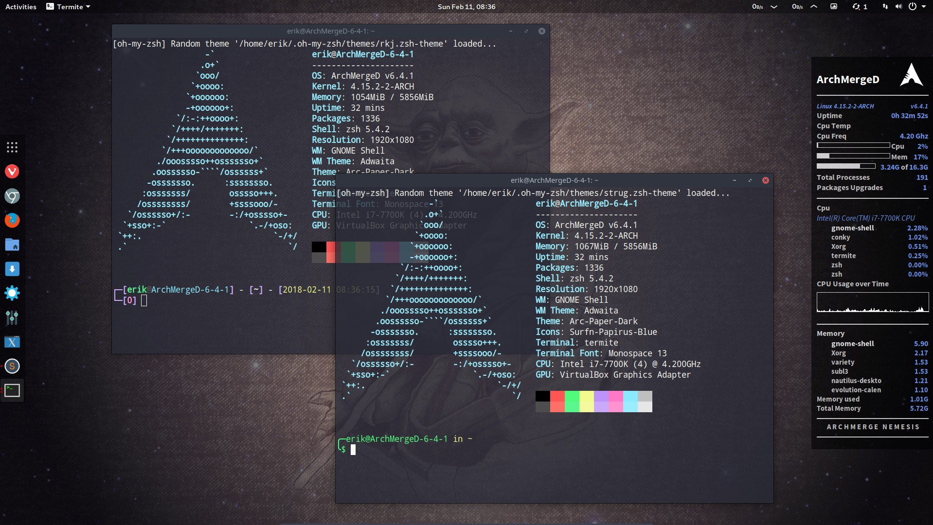 14 How to increase zsh's functionality and change the configuration – any desktop