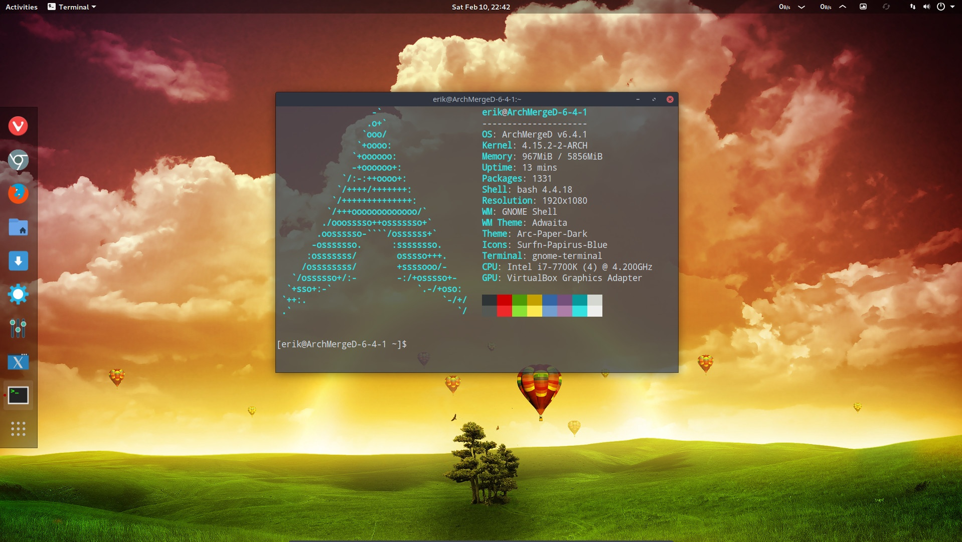 13 Tweaking your gnome terminal – transparency