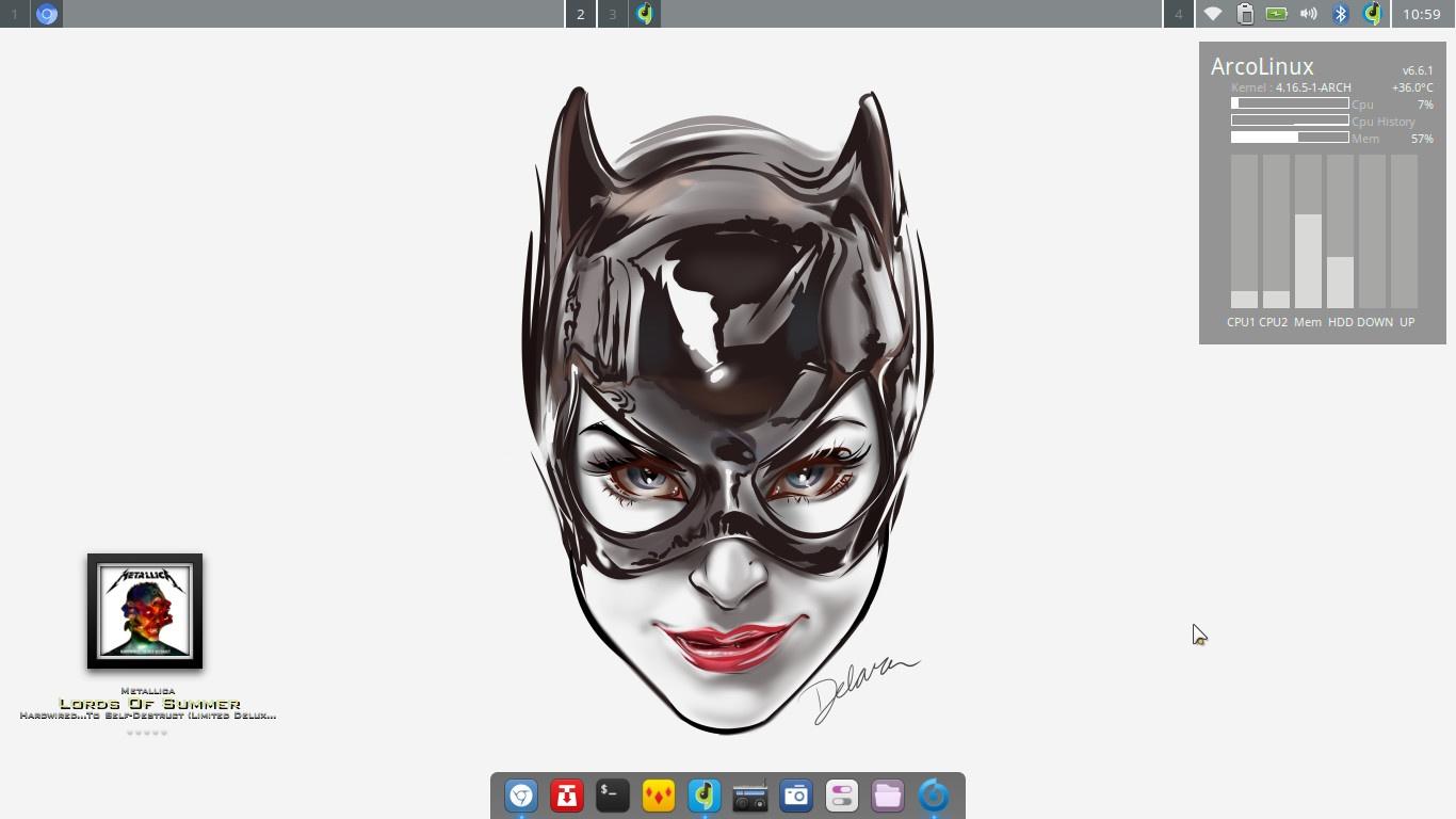 2 – How to theme ArcoLinuxD Openbox