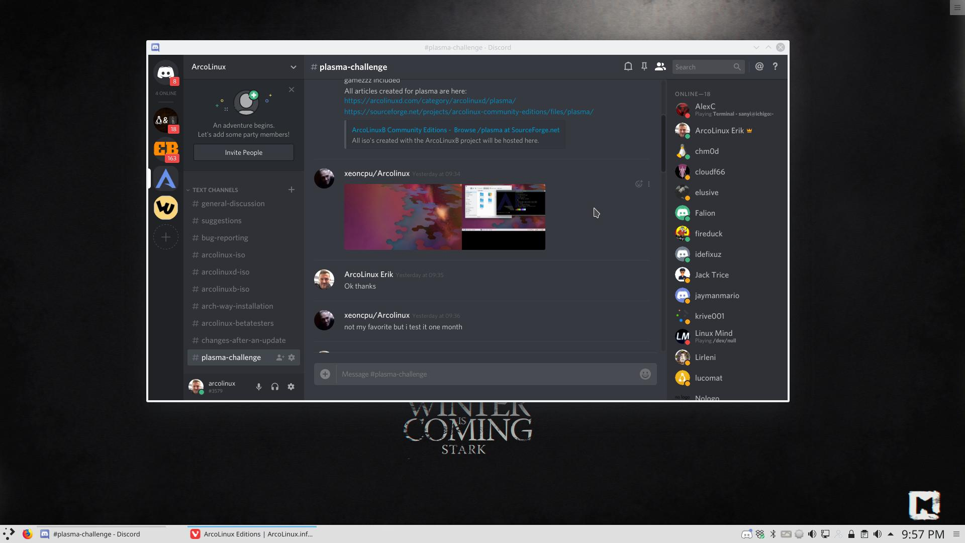 25 installing discord and find the invitation link – any desktop