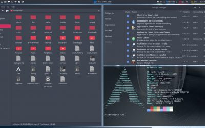 All in one Arch Linux installation BIOS with Xmonad