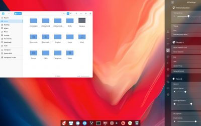 12 changing the appearance of deepin – icons, themes, cursors, … or personalisation of Deepin
