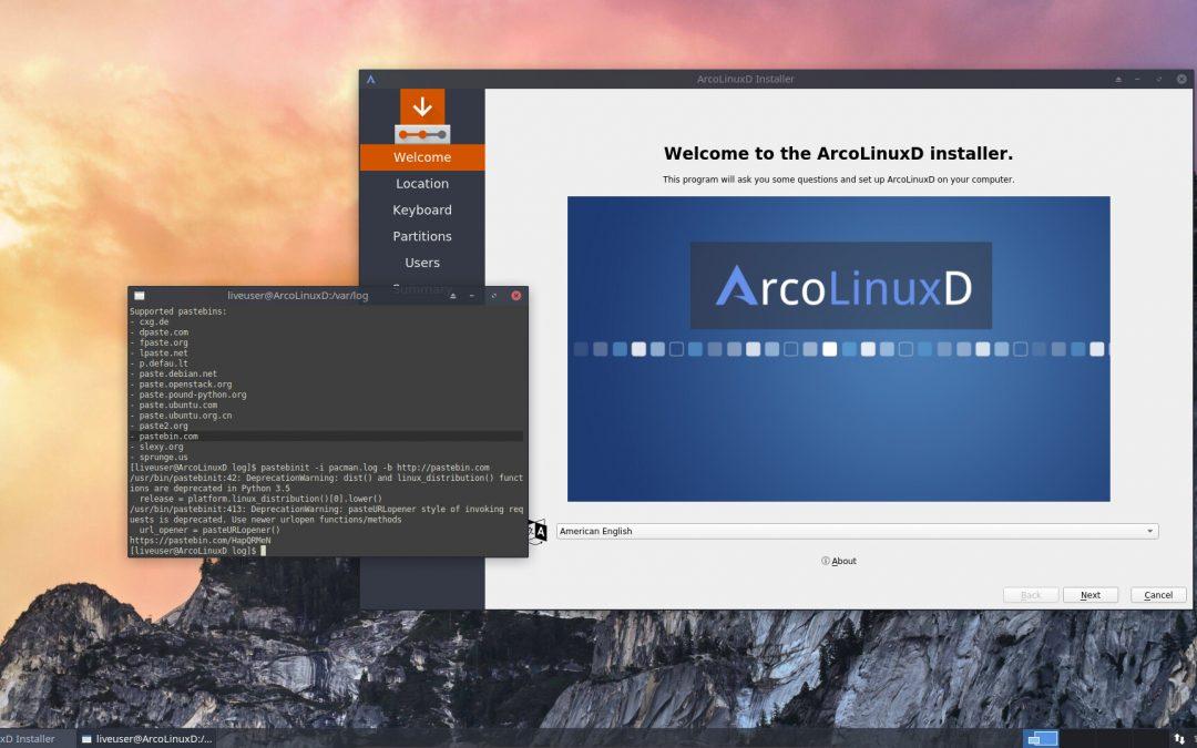 Use pastebinit to put log files online via the terminal