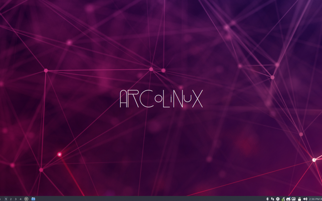 8 Activating the conkies of ArcoLinux on LXQt