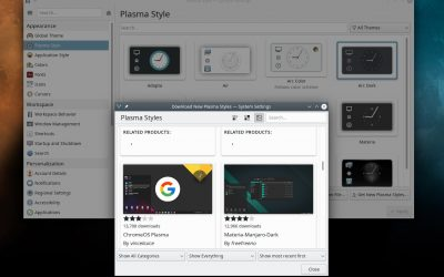 56 Use the Plasma settings to change the look