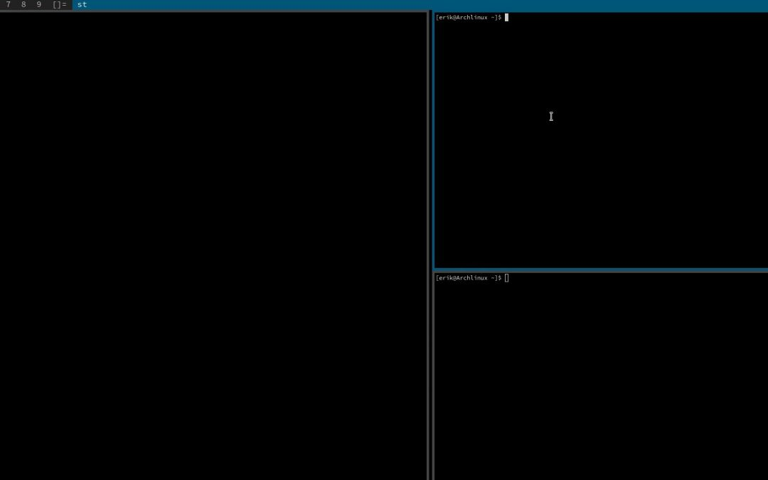 All in one Arch Linux installation UEFI with Dwm