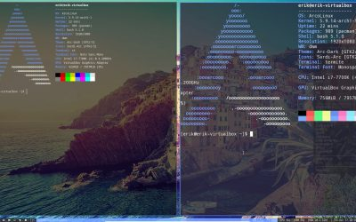 14 Learning about st or simple terminal from Suckless – changing the font size and color